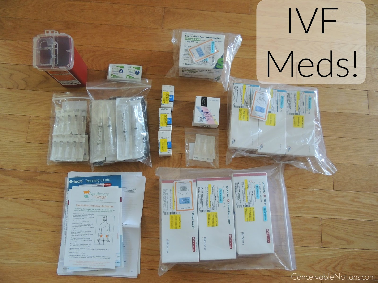 Conceivable notions our ttc journey my ivf meds cost ill give a quick summary of all of the medications we received i may need to order more or get some different medications depending on how the cycle goes solutioingenieria Images