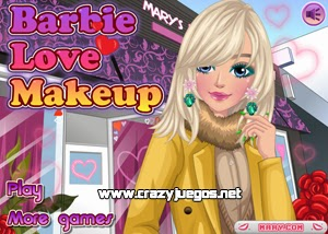 Jugar Barbie Love Makeup
