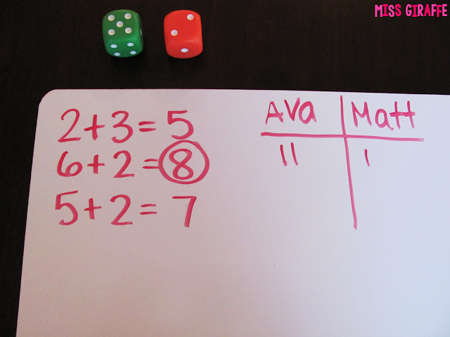 Fact fluency games and activities - read this post for a ton of helpful math tips