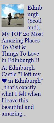 Traveling EDINBURGH (Scotland)