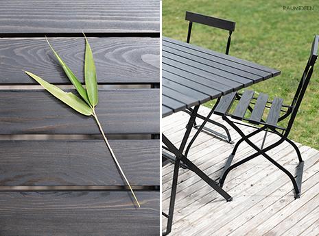 Gartenmöbel restaurieren - neue Tischplatte und Sitzflächen für meine Biergartengarnitur