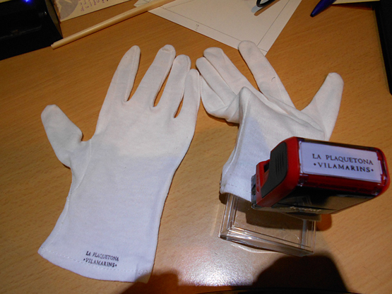 guants plaquetona