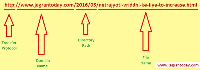 URL ke Prakar or Uske Component Ghatak