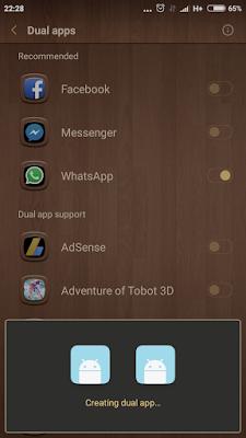 akun ganda aplikasi whatsapp dalam satu ponsel berbasis android
