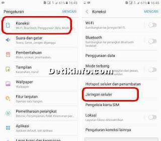 Cara Setting APN paket Yellow Indosat