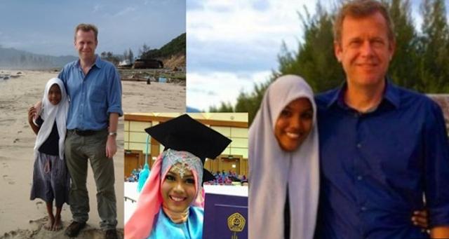 Wartawan International BBC Ini Ucapkan Selamat Wisuda untuk Korban Tsunami Aceh yang Pernah Ditemuinya