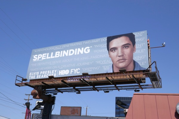 Elvis Presley Searcher Spellbinding Emmy FYC billboard