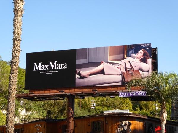 Amy Adams Max Mara Spring 2016 bilboard
