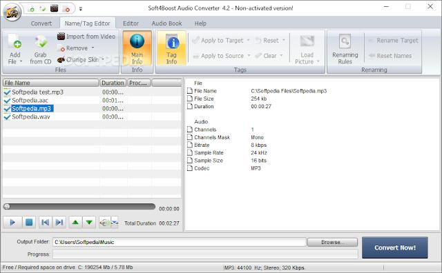 تحميل برنامج استخراج الصوت من الفيديو Audio Converter