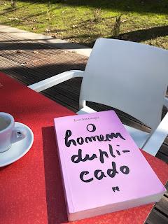 Opinião do livro O Homem Duplicado de José Saramago pela Porto Editora no blogue Clube de Leituras