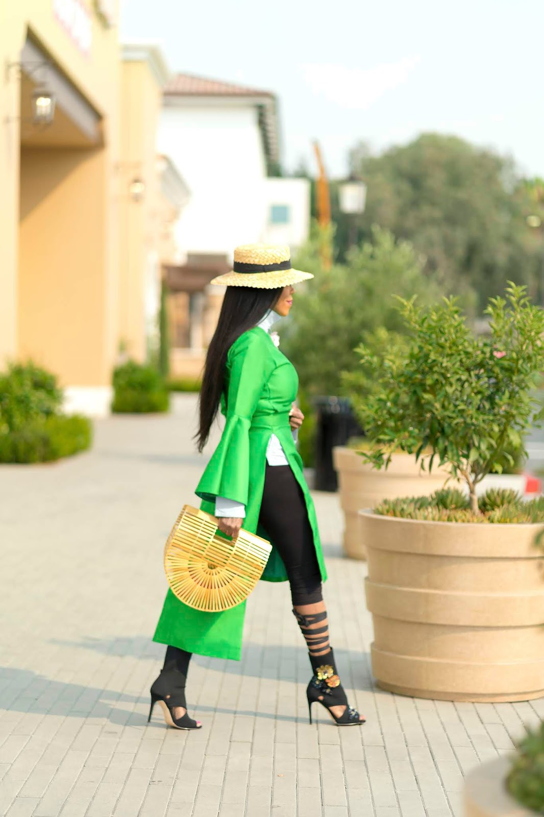 Neon Green in Street Style Fashion