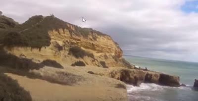 Trilhos de albufeira - Algarve a ver o mar