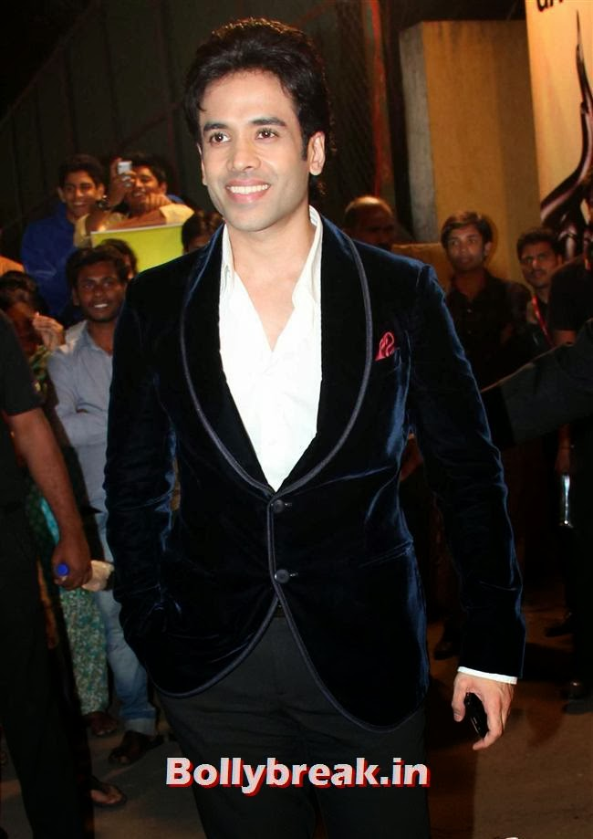 Tusshar Kapoor, Filmfare Awards 2014 Red carpet Images