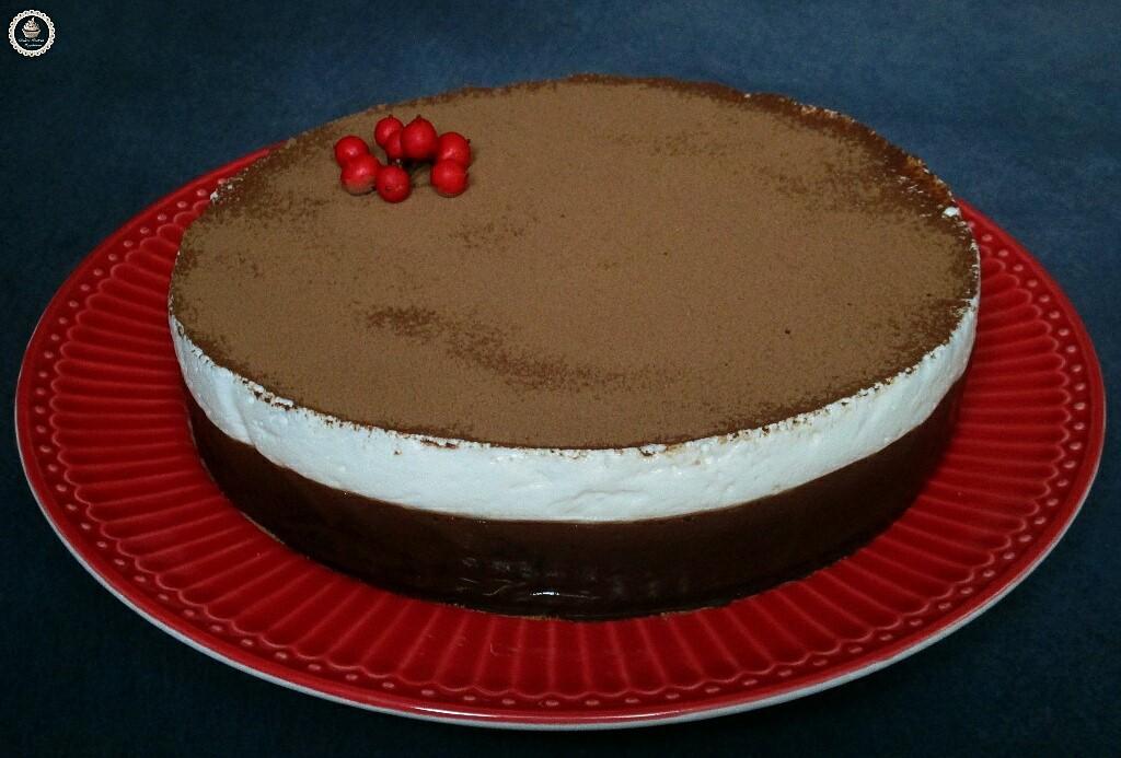 Dulces postres magdalena tarta mousse de yogurt - Como hacer mousse de yogurt ...