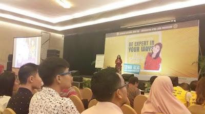 Salah satu seminar yang diadakan Universitas Atma Jaya Makasar / Catatan Adi