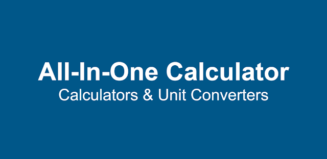 All-In-One Calculator and Unit Converter apk