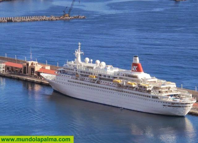 La Palma será puerto de salida de un crucero turístico por Canarias, Madeira y Agadir