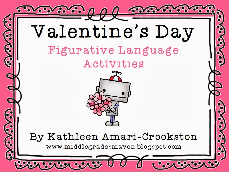 valentine 39 s day figurative language activities follow the trail product swap i 39 m lovin 39 lit. Black Bedroom Furniture Sets. Home Design Ideas