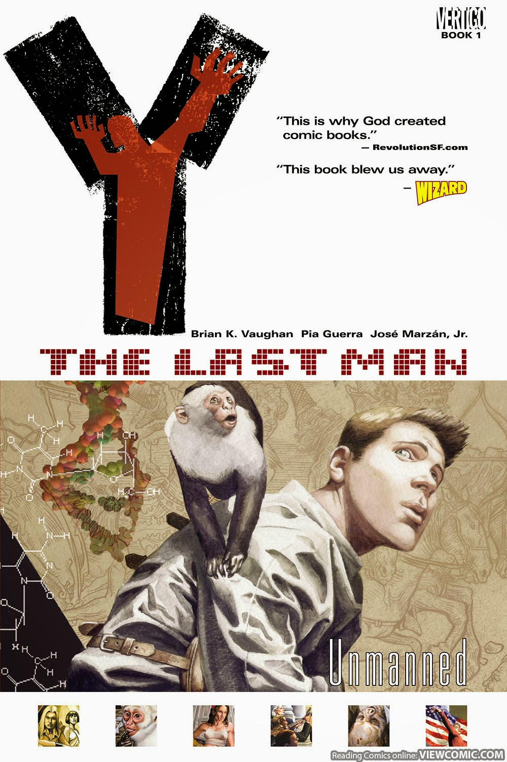 Y – The Last Man vol. 01 – Unmanned (2003)
