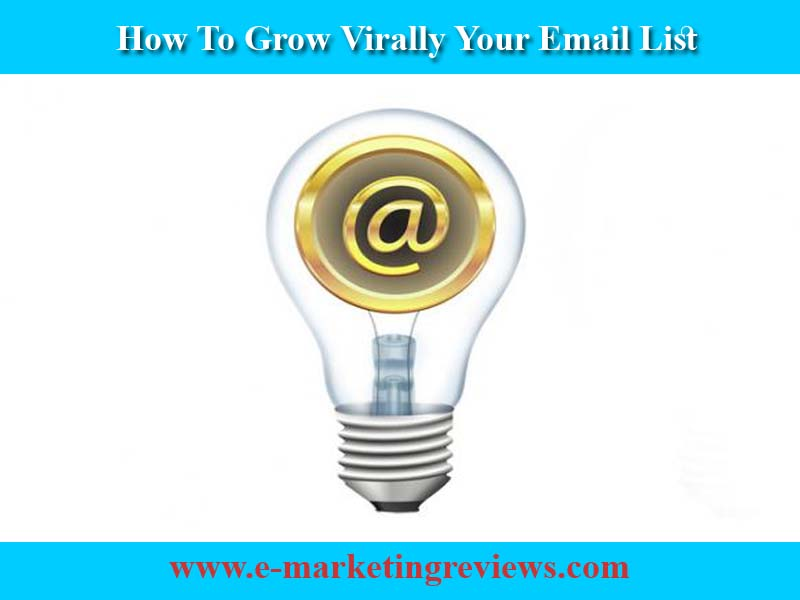 10 Easy Strategies To Grow Virally Your Email List