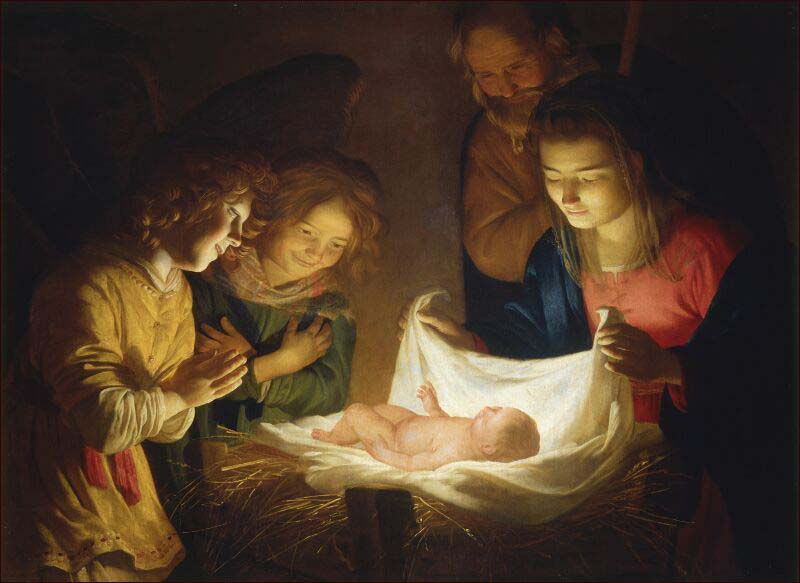 Znalezione obrazy dla zapytania boże narodzenie obrazy mistrzów