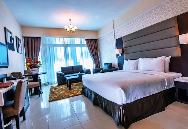 Imagini camere hotel Emirates Grand Hotel Apartments cazare dubai
