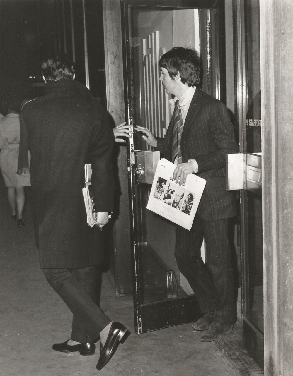 Ap News Wire   The Beatles In The News Paul Mccartney Ap Newswire Press