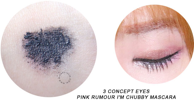 3 Concept Eyes Pink Rumour I'm Chubby Mascara review