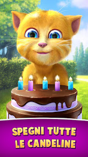 L'app il compleanno di Ginger - Ginger's Birthday
