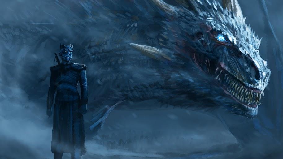 Night King Dragon Game Of Thrones 4k Wallpaper 81