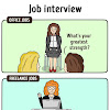10 Ilustrasi yang Mengungkap Perbedaannya Kerja Kantoran dengan Koloran (Freelance) yang Bikin Ngakak