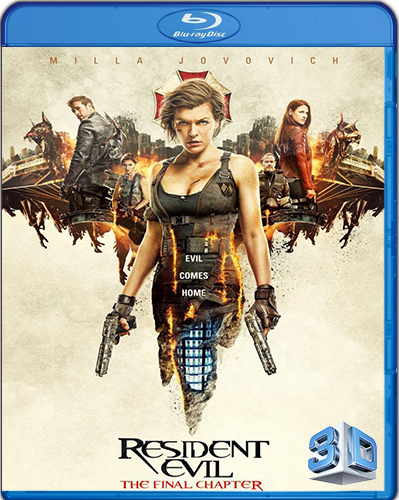 Resident Evil: The Final Chapter [2017] [BD25] [Latino] [3D]