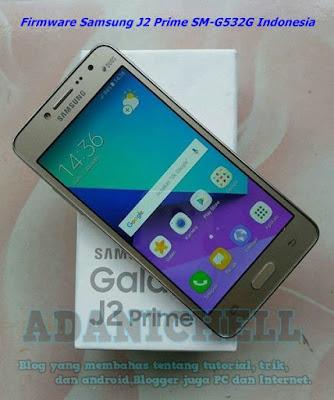 Firmware Samsung J2 Prime SM-G532G Indonesia