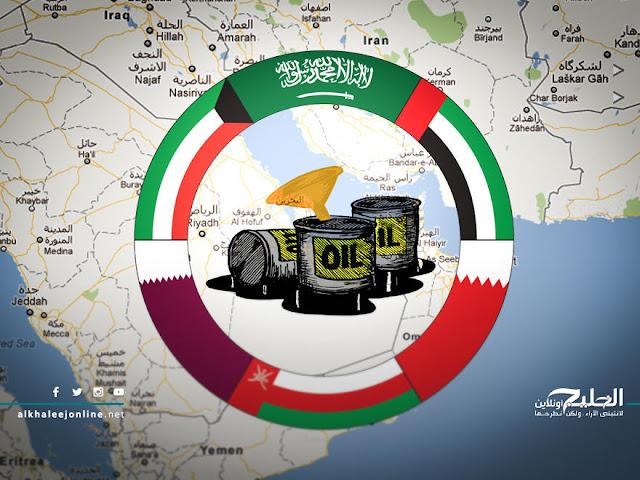 توزيع إيرادات النفط السنوية بدول الخليج