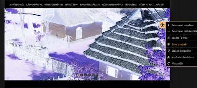 Palóc Múzeum - invert színekkel