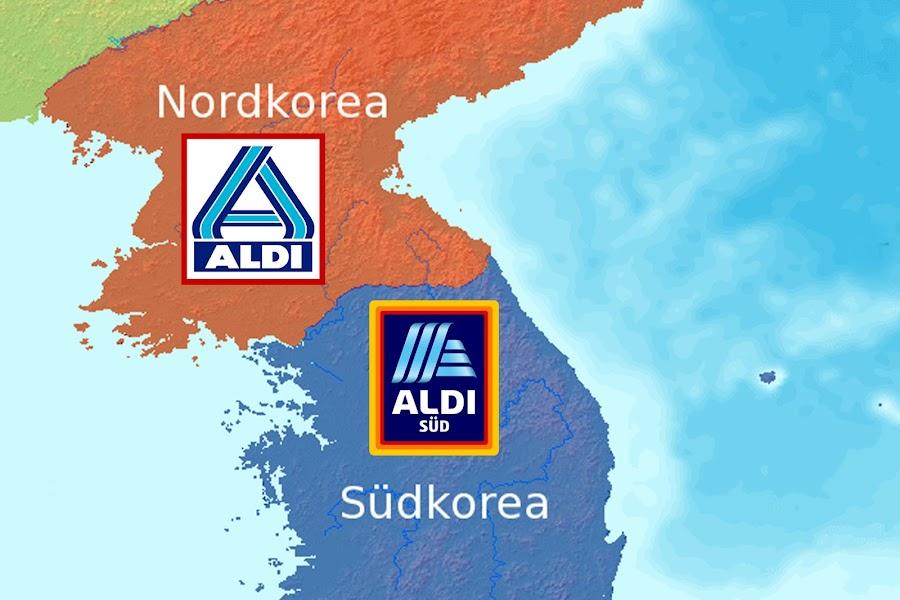 Aldi Nord Süd Karte.Der Postillon Passende Gebietsstruktur Aldi Expandiert Nach Nord