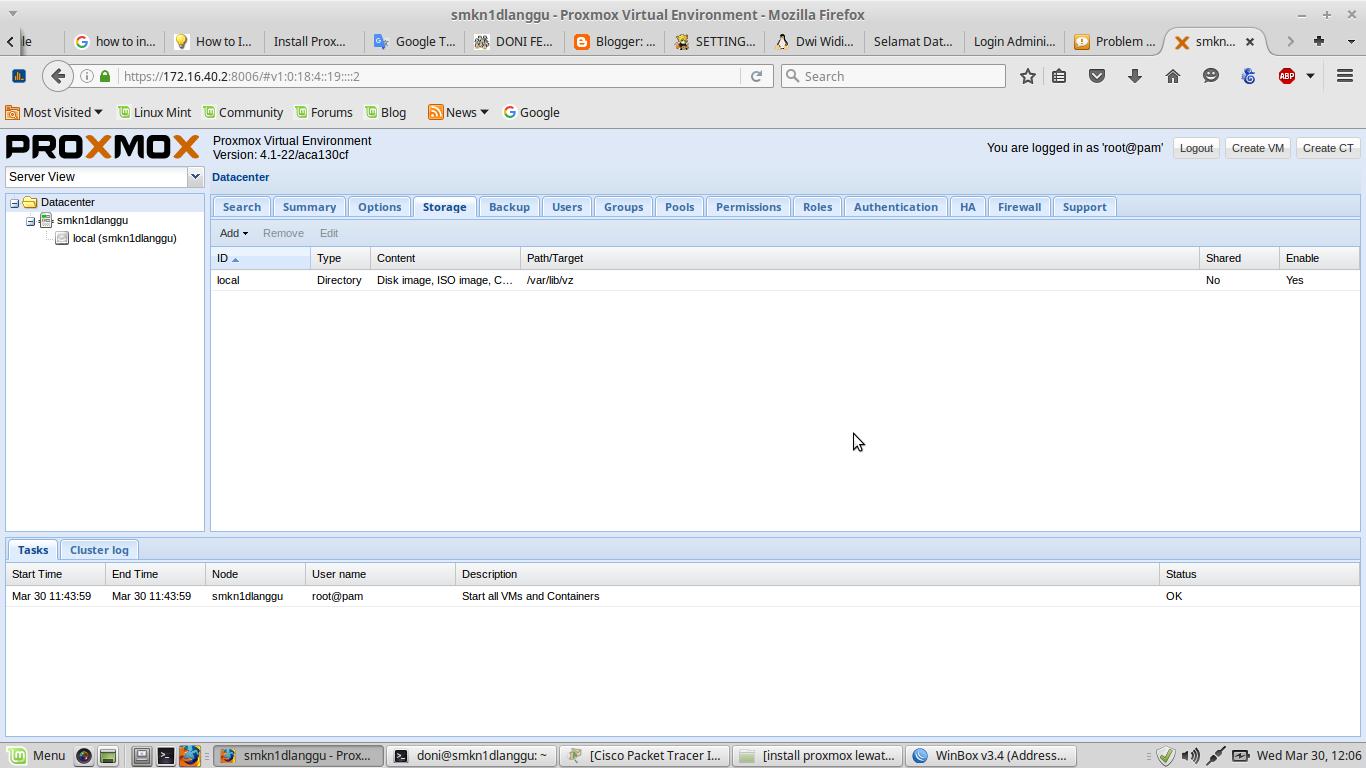 Install Proxmox di Debian Jessie ~ DONI FERDIANTO