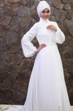 Contoh Baju Pengantin Muslim Terbaru