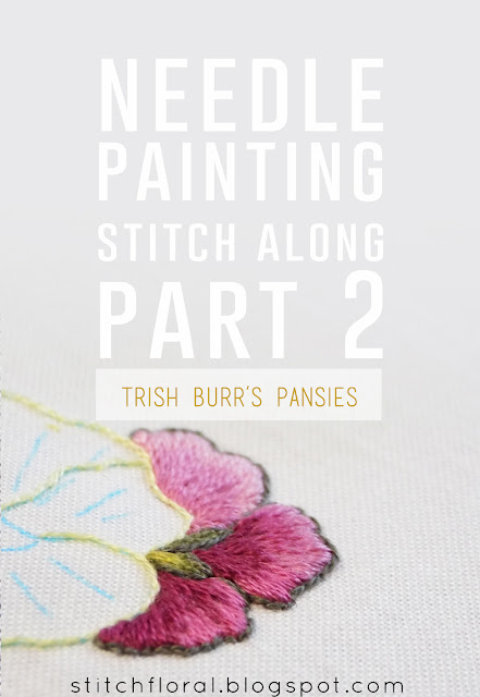 Needle Painting stitch along Part 2