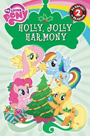 MLP Holly Jolly Harmony Book Media