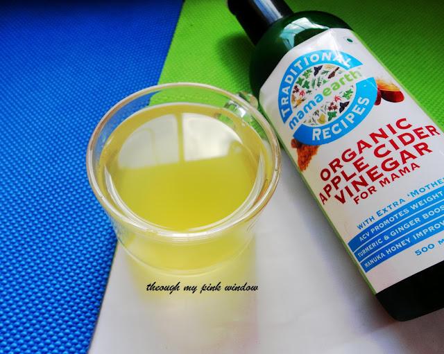 Mamaearth Organic Raw Apple Cider Vinegar for mama : Review