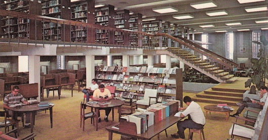 Library Interior, Arizona Western College, Yuma, Arizona