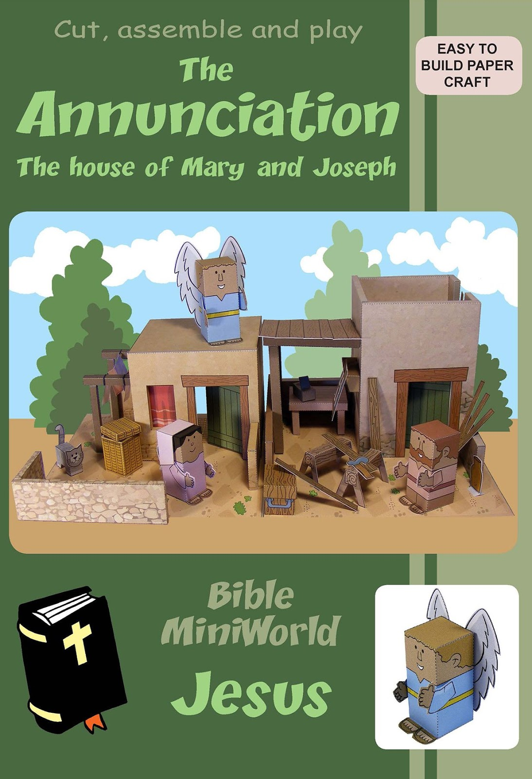 my little house bible miniworld jesus