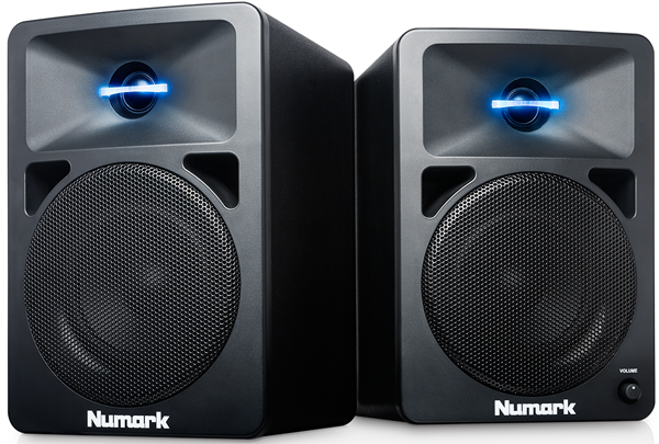 Numark N-Wave 580 Powered Desktop DJ Monitors | Kurnia Musik Jogja BLOG