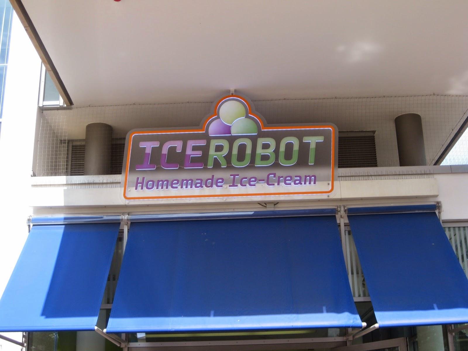 around the wherever restaurant review icerobot homemade ice cream