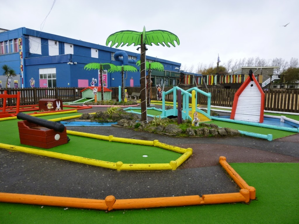 The Pirate Mini Golf Golf course at Pontins Camber Sands Holiday Park