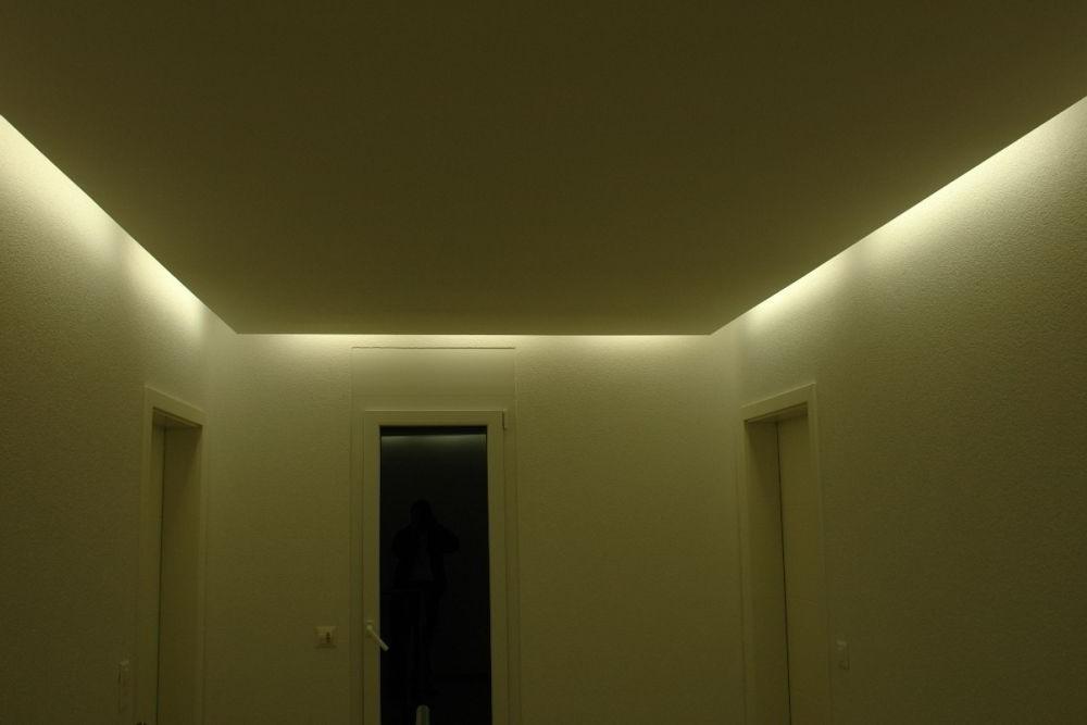 Indirekte beleuchtung decke selber bauen | Hause Dekoration ...