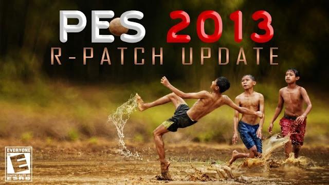 Patch PES 2013 Terbaru dari R-Patch AIO