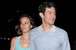 It's official: Adam Brody and Leighton Meester married