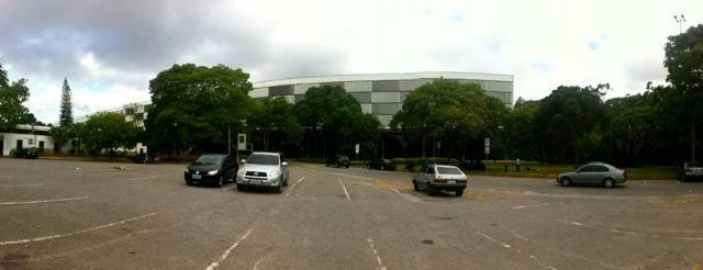 Parque Ibirapuera - Estacionamento